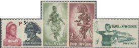 Papua New Guinea SG28-32 1961-2 Definitives set of 5